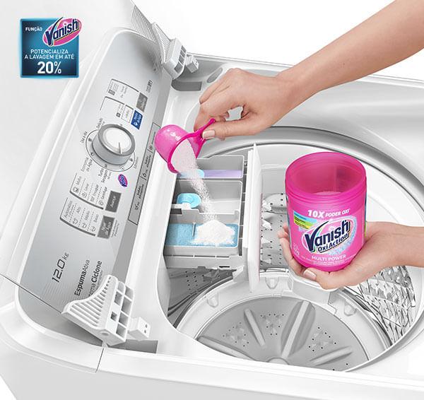 Lavadora de roupas NA-F120B1WA Panasonic