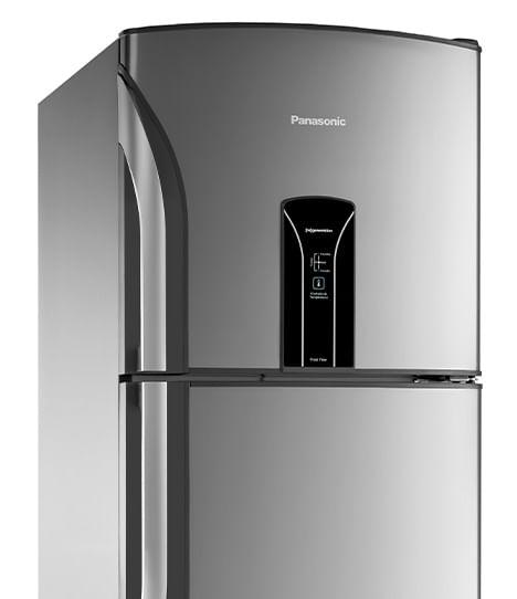 Geladeira Panasonic Frost Free 387l Aço Escovado - NR-BT42BV1X