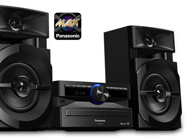 Áudio AKX100 Panasonic