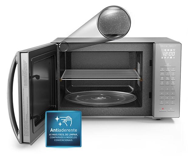Micro-ondas Panasonic 34l 900W Inox ST67LSRU