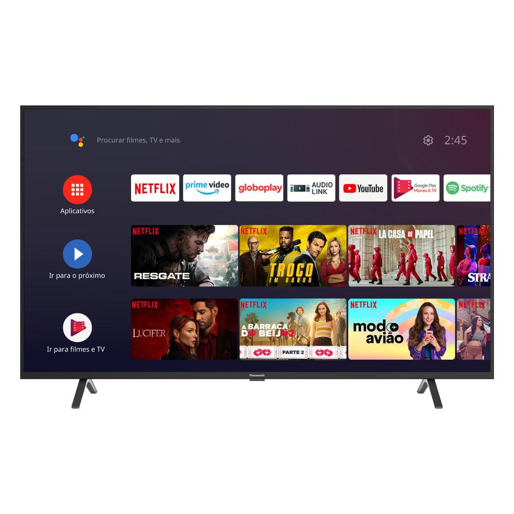 """Tv 55"""" Led Panasonic 4k - Ultra Hd Smart - Tc-55hx550b"""